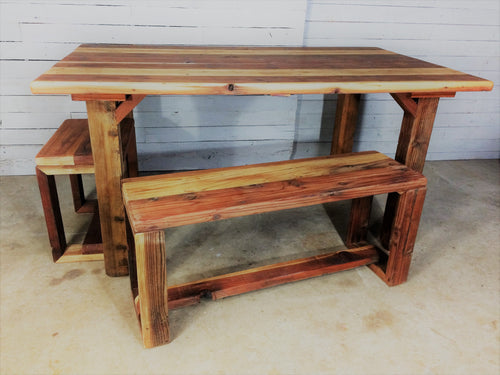 Hand-Crafted Reclaimed Wood Table