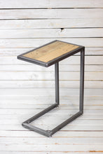 Geometric Side Table, Silver