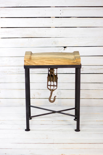 Hook & Pulley Stool
