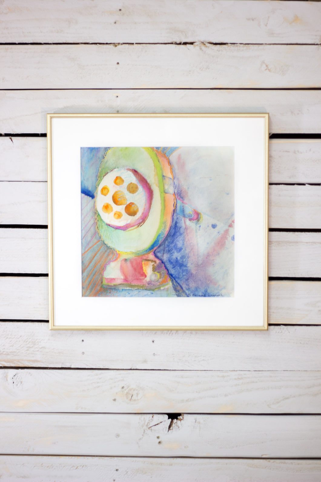 Original Abstract Watercolor -
