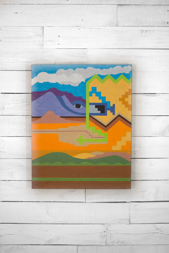 Graphic Southwest Painting