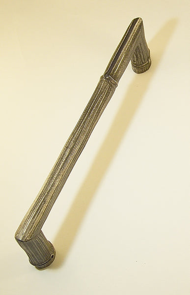 Reeded Bamboo Pull 9 inches