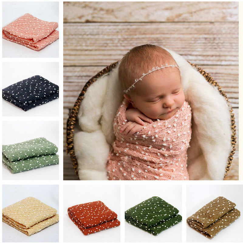 Newborn Baby Wrap Head Band Photography Props Baby Blends By Mg