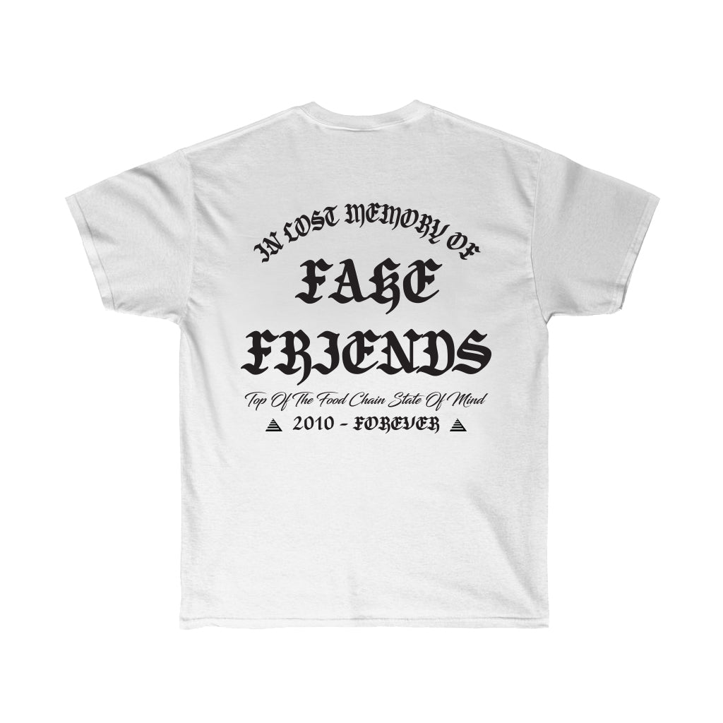 RIP Fake Friends Tee (White)