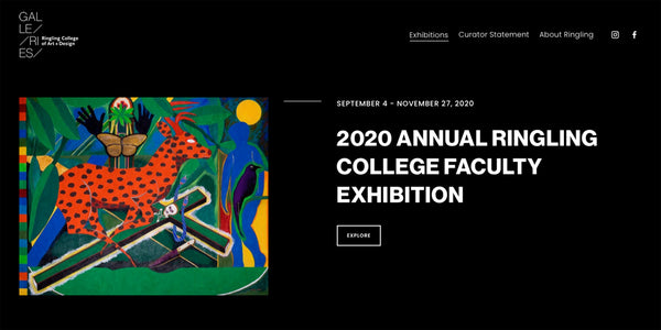 RCAD Faculty Show 2020