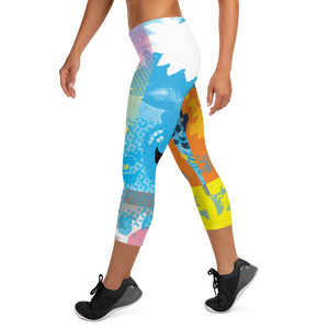 CMYK Capri Leggings