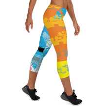 Load image into Gallery viewer, CMYK Capri Leggings