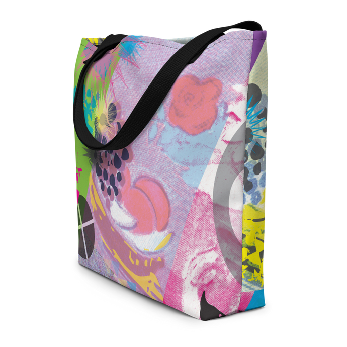 CMYK Giant 2-Sided Tote Bag