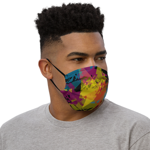Abstract Polygon Face Mask