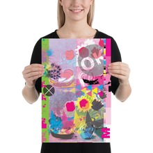 Load image into Gallery viewer, CMYK Magenta Matte Poster Print