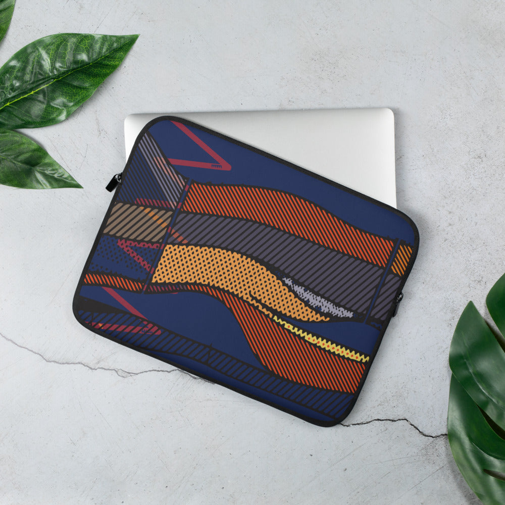System of Heat Laptop Sleeve