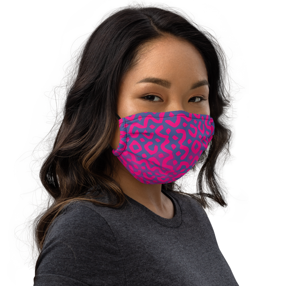Poppin' Pink Face Mask