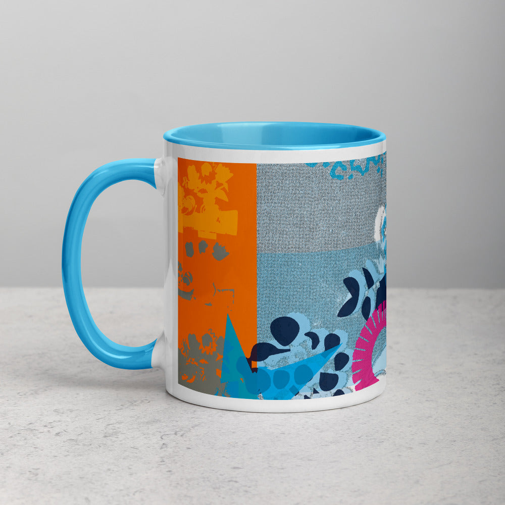 CMYK Cyan Mug with Color Interior - 11oz