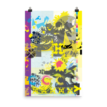 Load image into Gallery viewer, Yellow CMYK Matte Poster Print