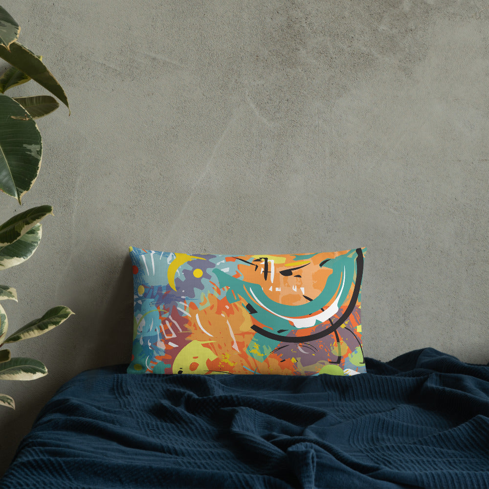 Sequence Premium Art Pillow