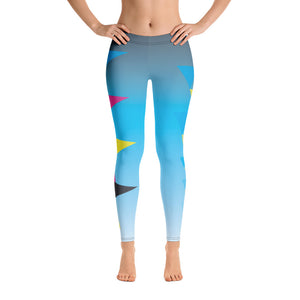CMYK Triangle Full Length Leggings