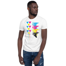 Load image into Gallery viewer, CMYK Triangle Unisex T-Shirt