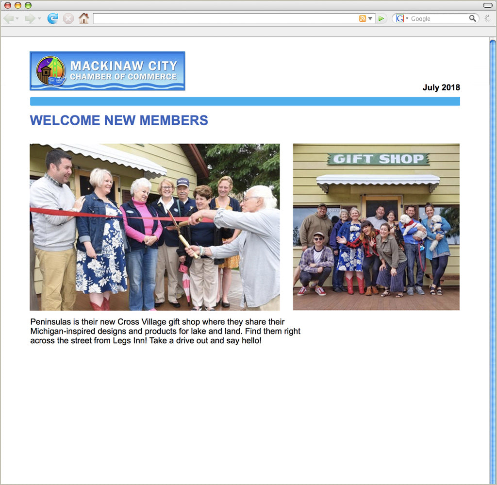 Welcome New Member, Peninsulas!