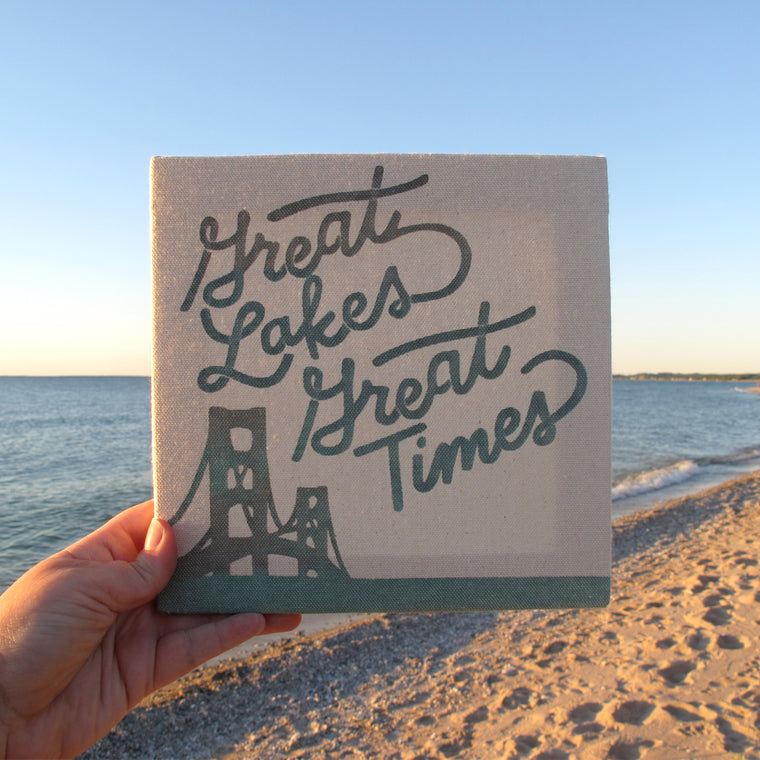 Great Lakes Great Times Canvas Print