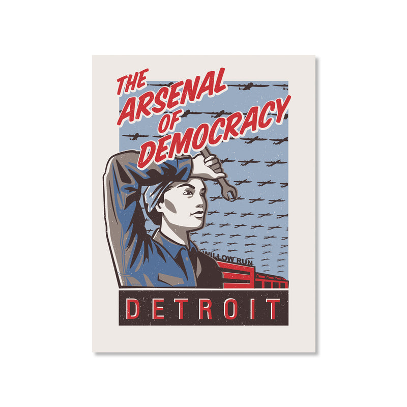 Arsenal of Democracy Print
