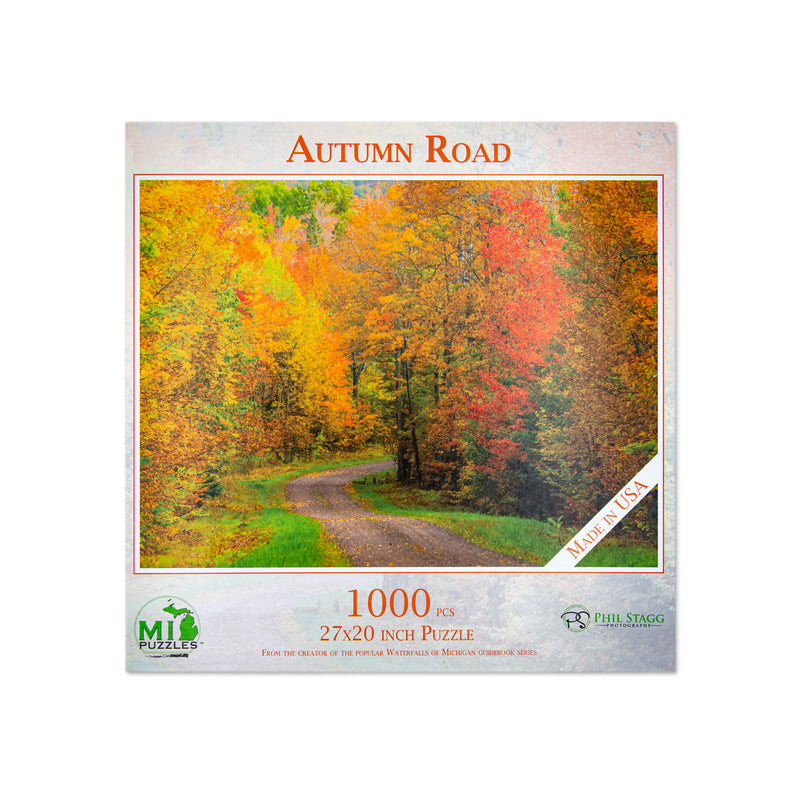 Autumn Road Puzzle - 1,000 Pieces