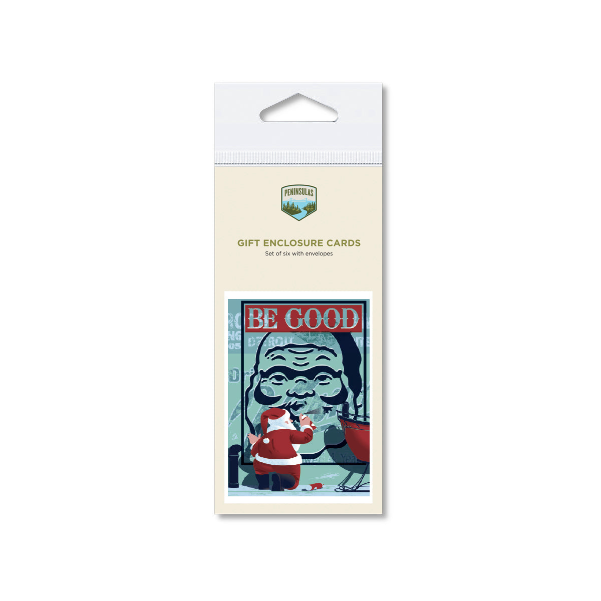 Be Good Gift Enclosure Cards