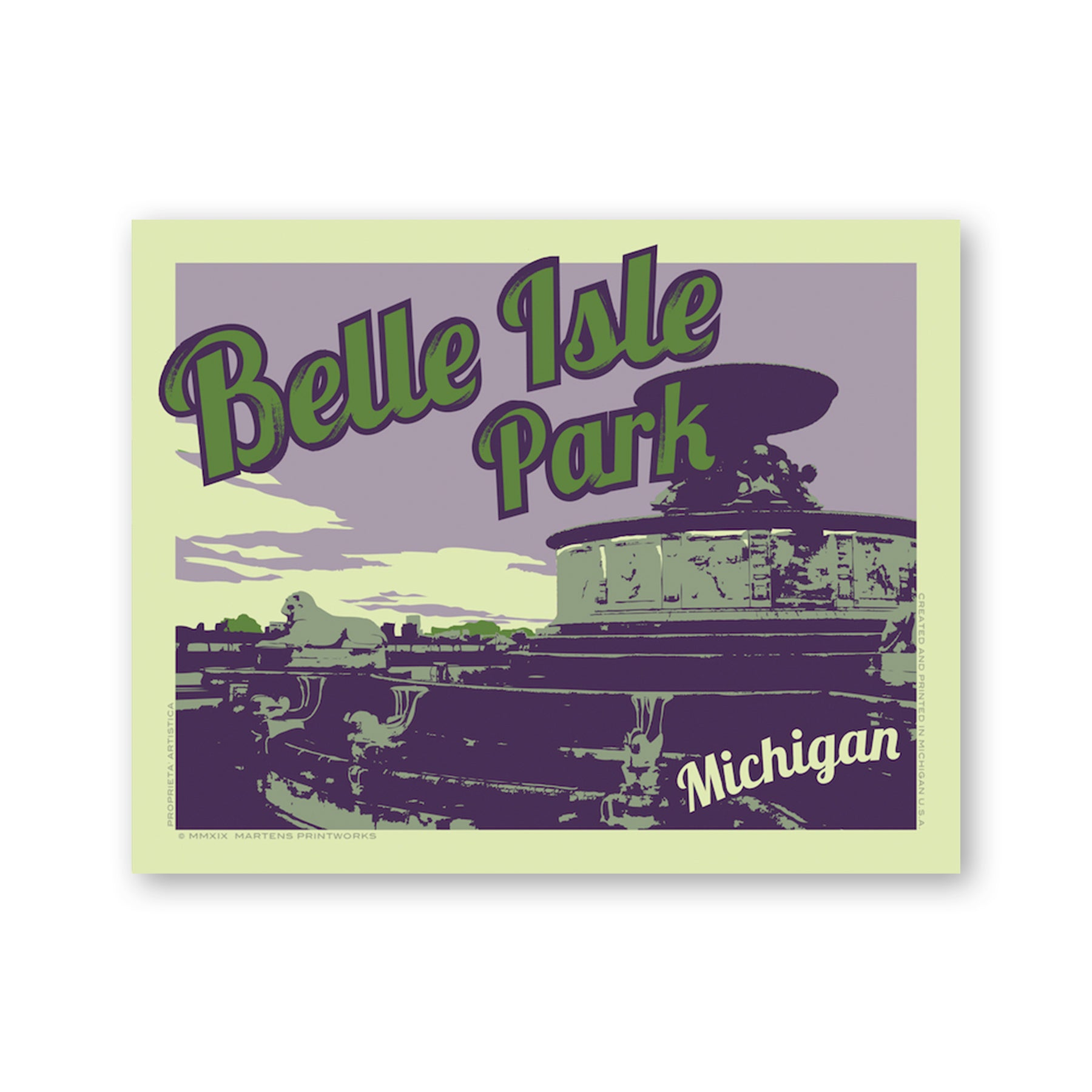 Belle Isle State Park Print