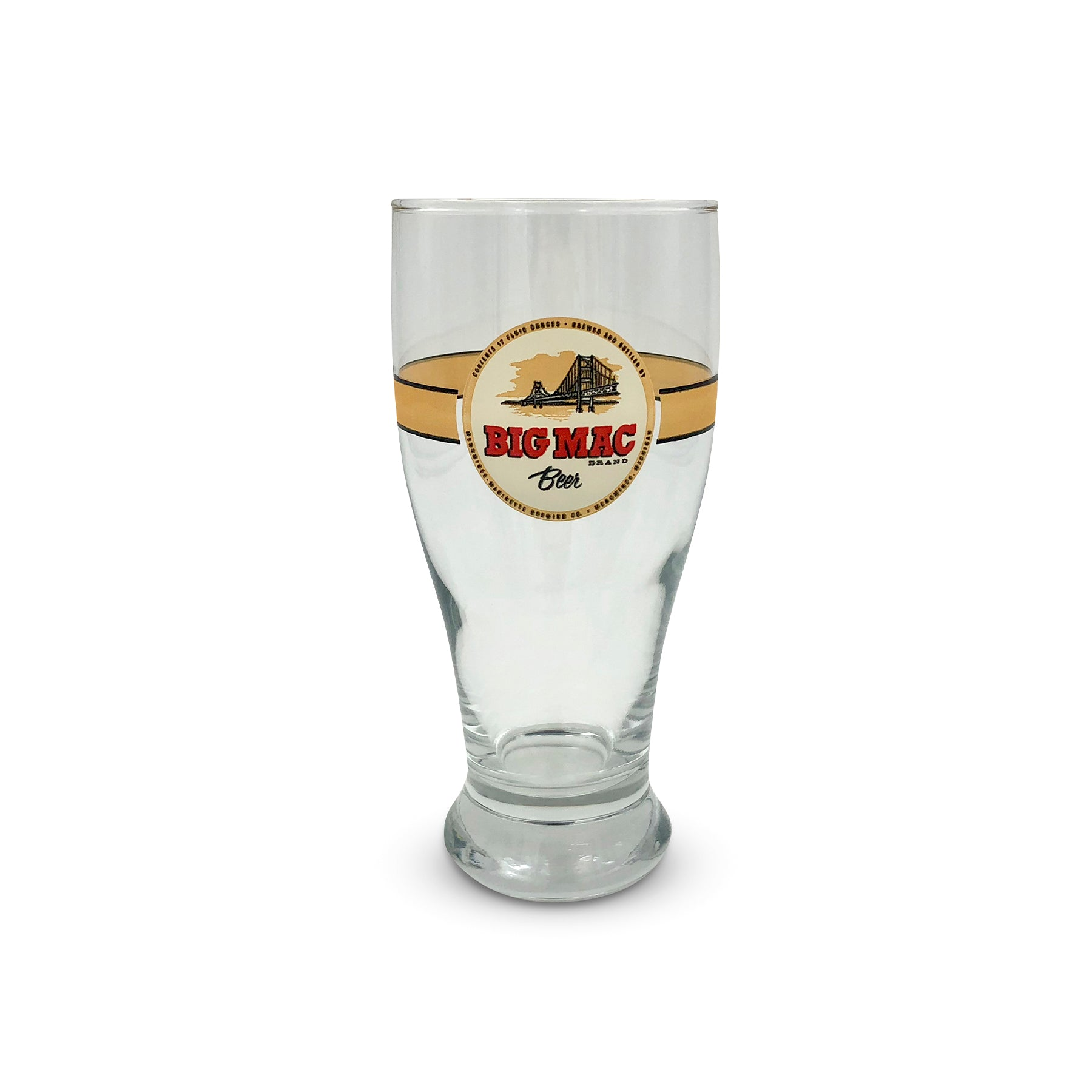 Big Mac Beer Pint Glass