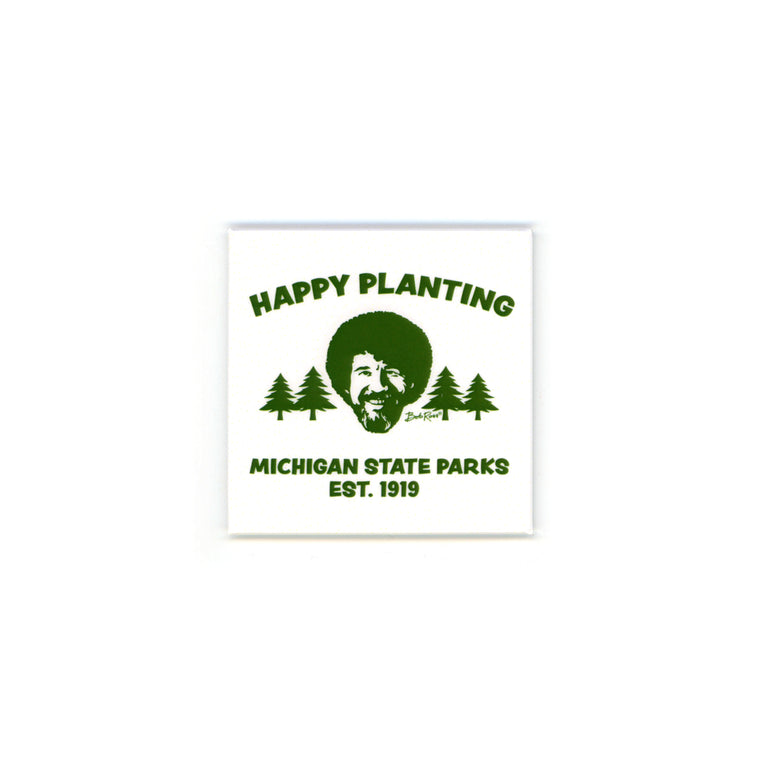 Bob Ross Michigan DNR Magnet