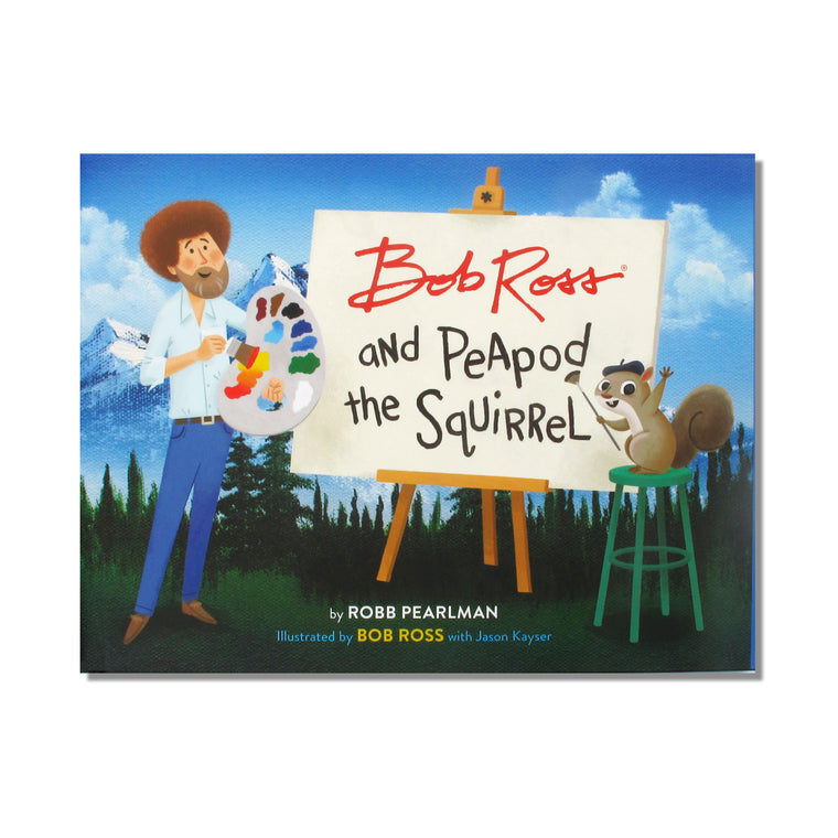 Bob Ross and Peapod Book
