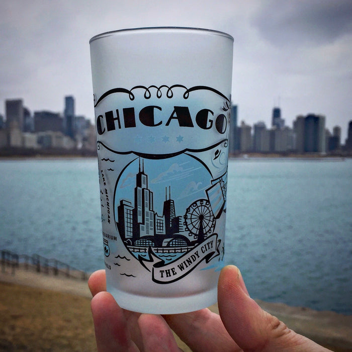 Chicago Frosted Glass
