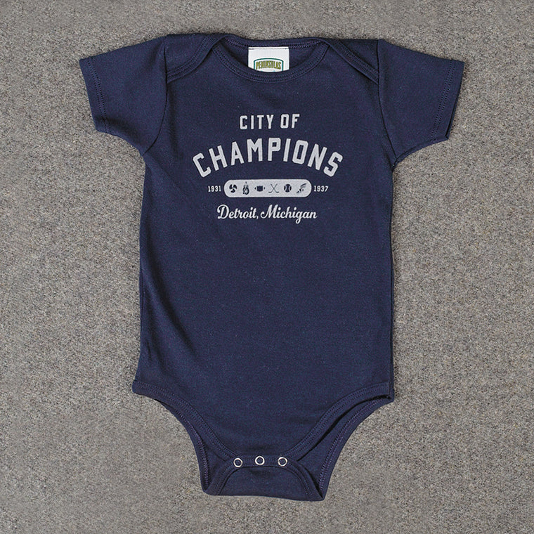 City of Champions Infant One-Piece