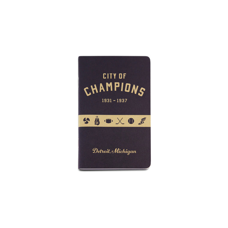 City of Champions Pocket Notebook