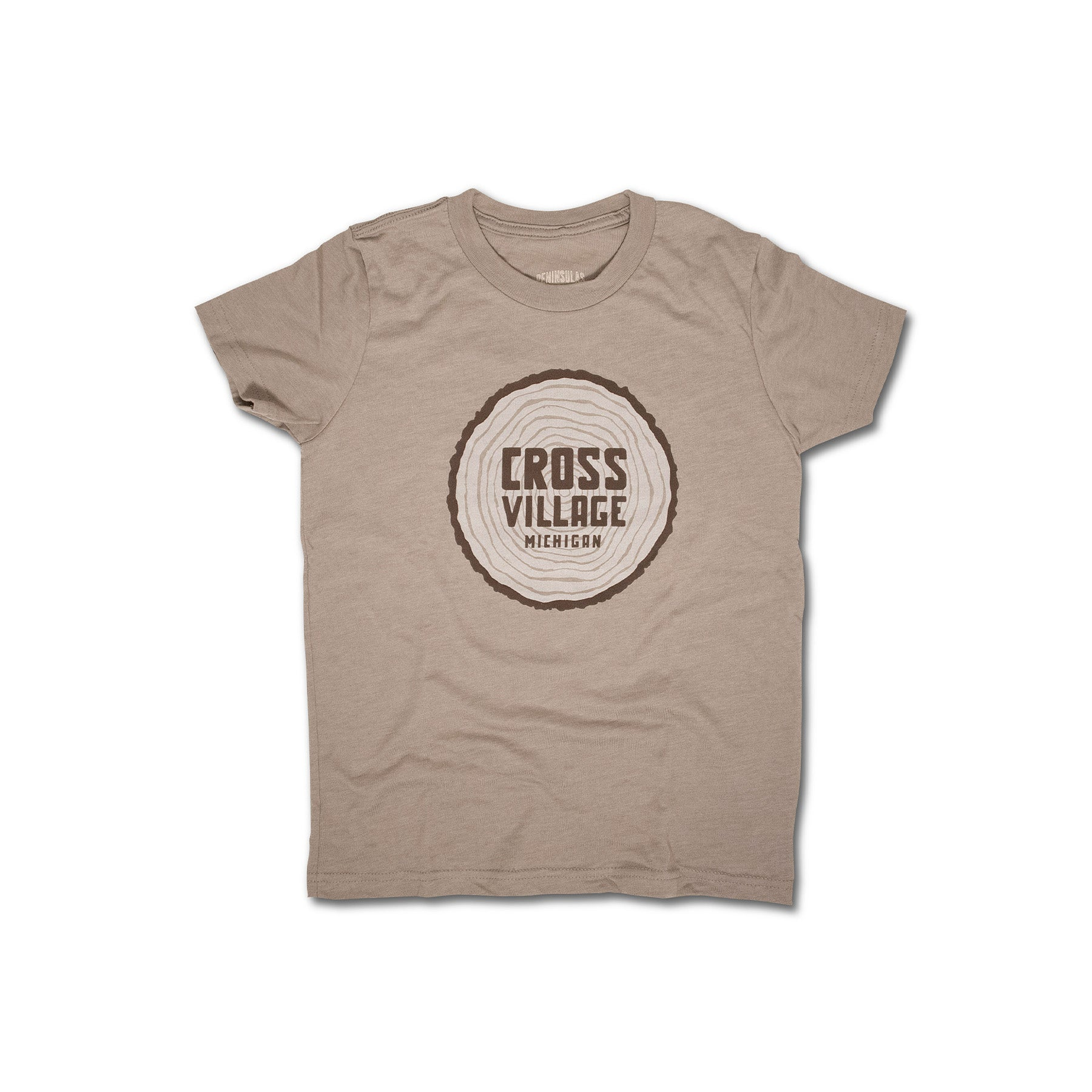 Cross Village Log Youth T-Shirt