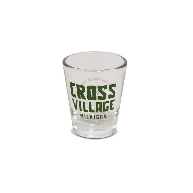 Cross Village Shot Glass