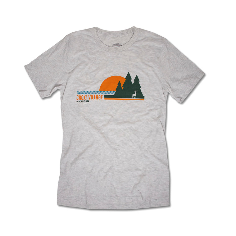 Cross Village Sunset T-Shirt - Light