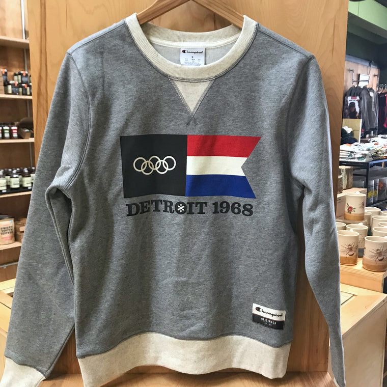 Detroit 1968 Olympic Crew Neck