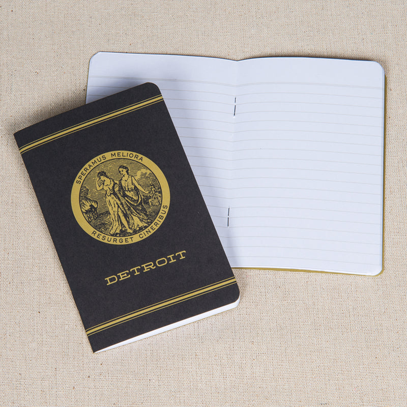 Detroit Seal Pocket Notebook