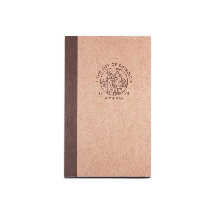 Modern Detroit Seal Notebook