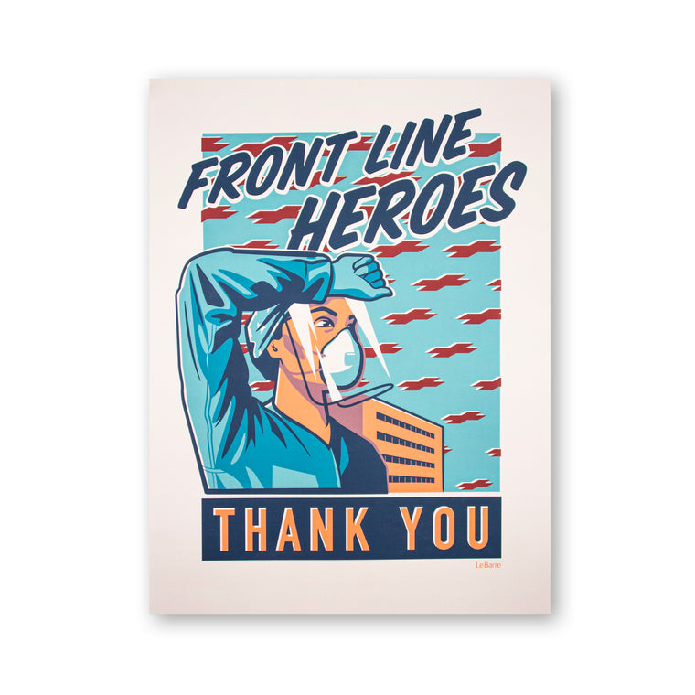 Front Line Heroes Print