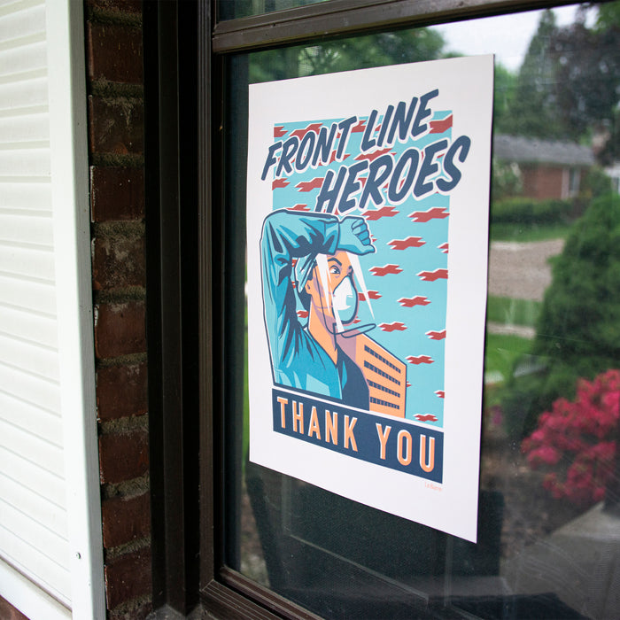 Front Line Heroes Set of Three