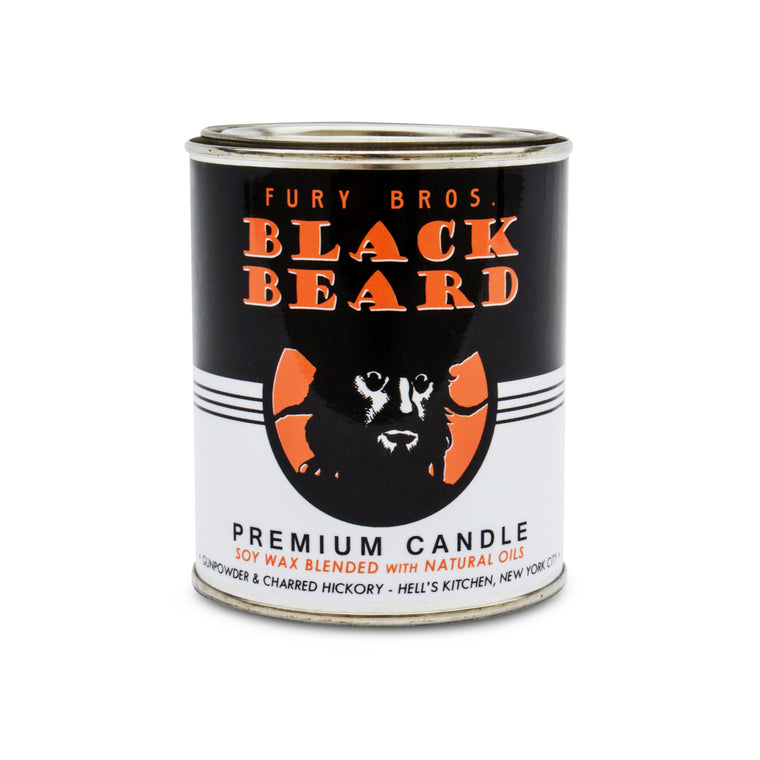 Fury Bros. Black Beard Premium Candle