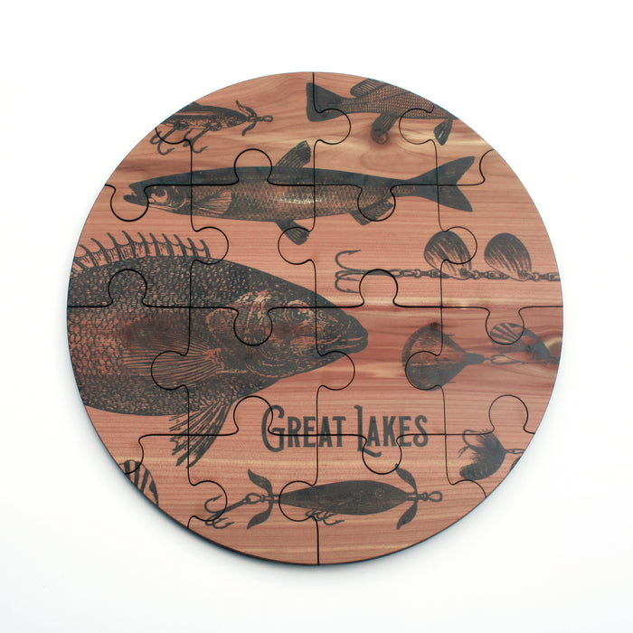 Great Lakes Fishing Jigsaw Puzzle