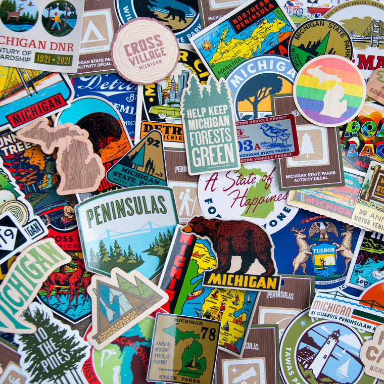 The Great Lakes Mega Sticker Bundle