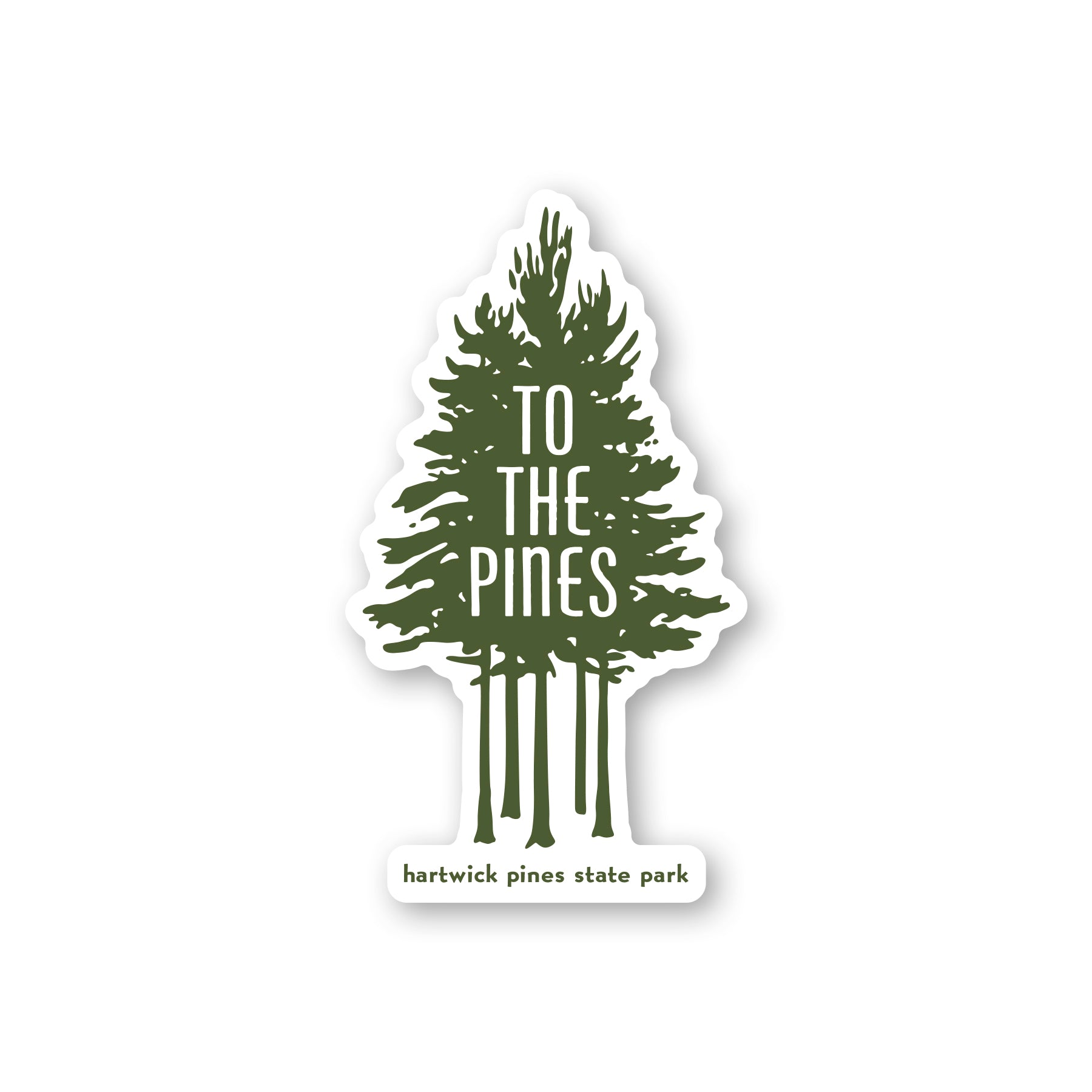 Hartwick Pines State Park Grove Sticker