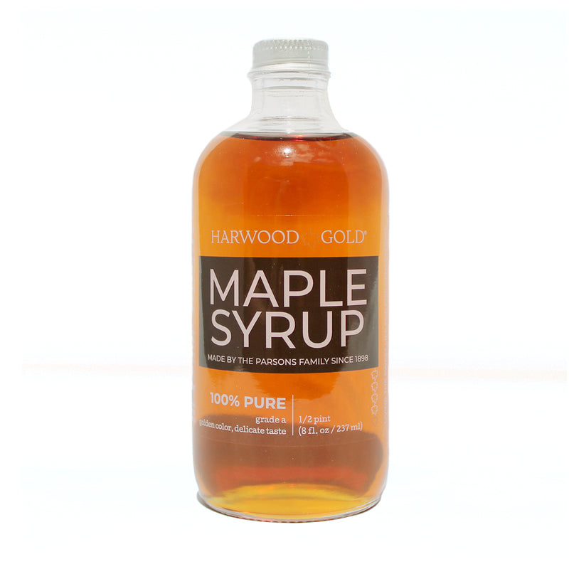 Harwood Gold Amber Maple Syrup - 8 oz.