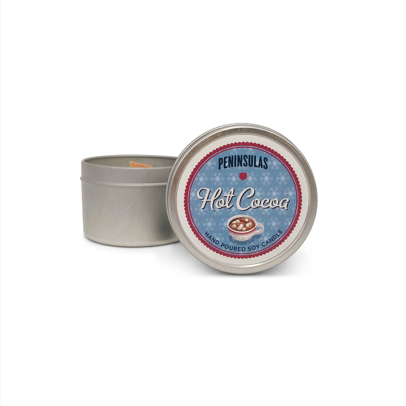 Hot Cocoa Candle Tin