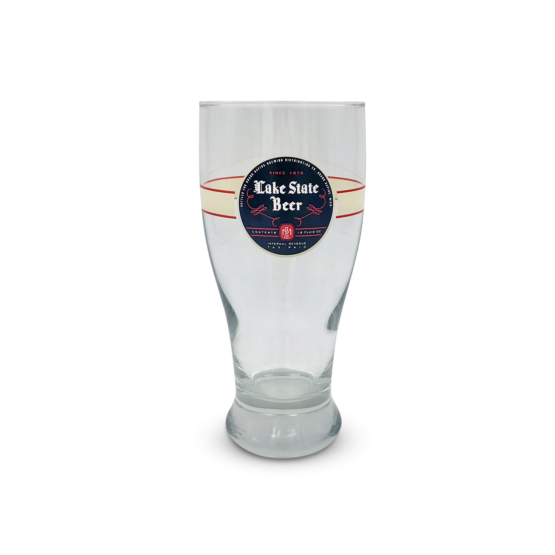 Lake State Beer Pint Glass