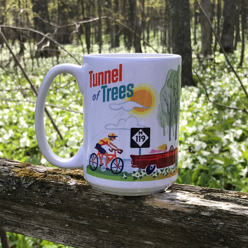 Tunnel of Trees M-119 Four Seasons Ceramic Mug