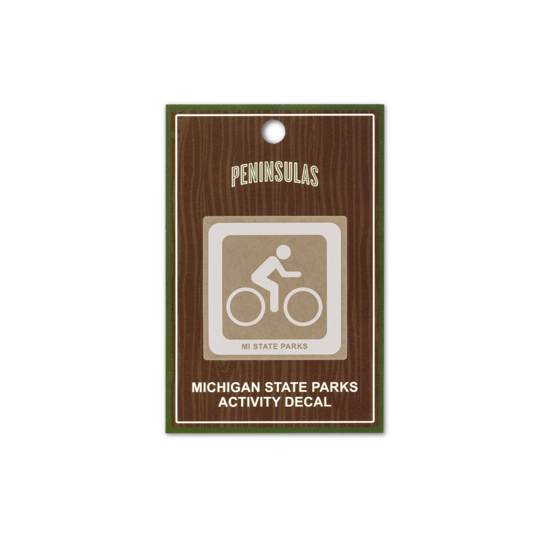MI State Parks Activity Decal - Bicycle Trail